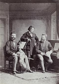 The Piano Trio of Hausmann, Barth and de Ahna