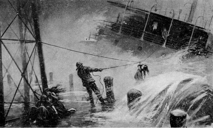 February 1907: Shipwreck