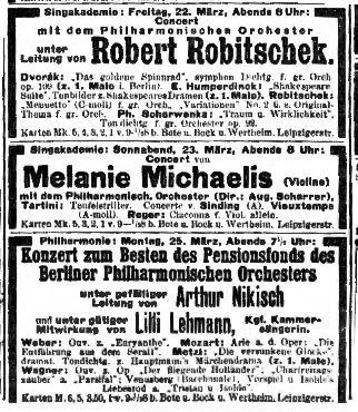 The Berlin Philharmonic's insane concert schedule
